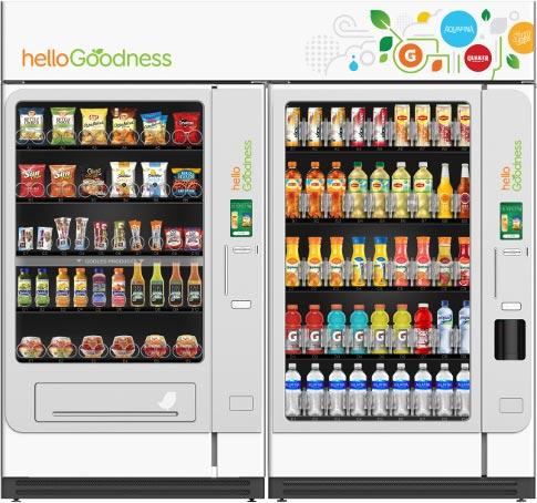 healthy vending machines in Warren and Metro Detroit Area